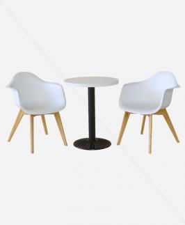 Bộ bàn ghế - NNBGDS.T.WHITE-NN225C