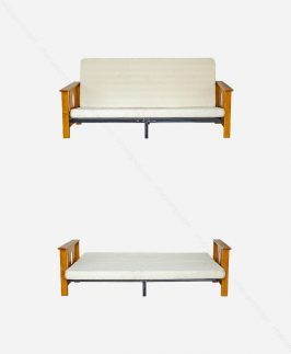 Futon (sofa-bed-oak)