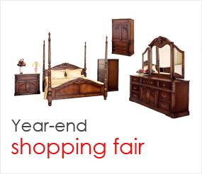 Year-end shopping fair