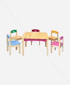 Bộ bàn ghế trẻ em - Children-set.2