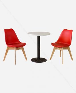 Bộ bàn ghế - NNBGDS.T.WHITE-NN226C